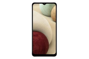 Samsung Galaxy A12-White (64GB + 4GB)
