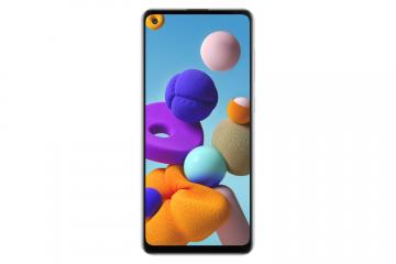 Samsung Galaxy A21s-White (128GB+4GB)
