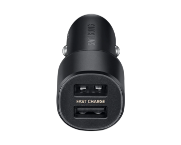 Car Charger Duo-Black