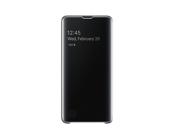 Samsung Galaxy S10 Clear View Cover-Black
