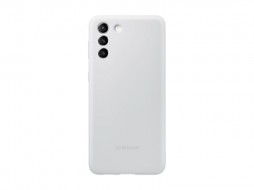 Galaxy S21+ Silicone cover-Light Gray