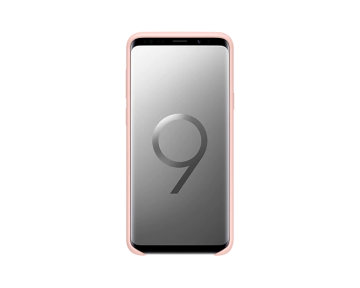 Samsung Galaxy S9+ Silicone Cover-Pink