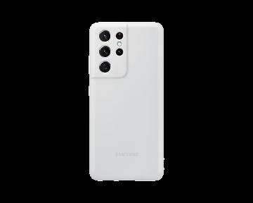 Galaxy S21 Ultra Silicone Cover-Gray