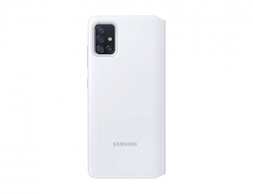 Samsung Galaxy A51 S View Wallet Cover-White