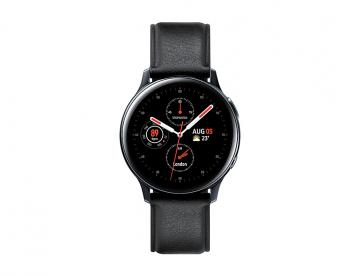 Samsung Galaxy Watch Active 2 (40mm) - Stainless Steel-Black