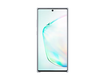Galaxy Note10+ Silicone Cover Silver