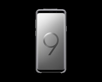 Samsung Galaxy S9+ Silicone Cover-Gray